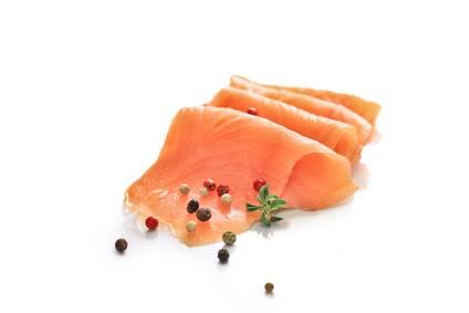 Lachsfilet Sushi